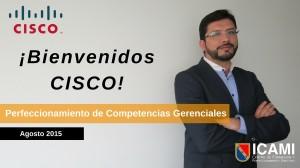 Bienvenidos CISCO ICAMI