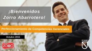bienvenidos Zorro ICAMI