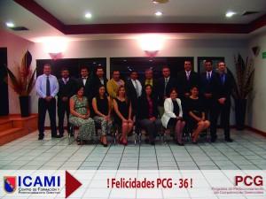 PCG-36 Clausura Grupo