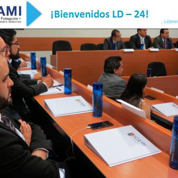 Bienvenidos LD 24 ICAMI
