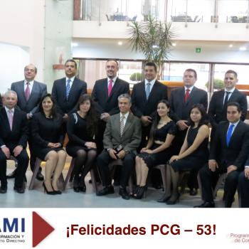 Felicidades PCG - 53 icami