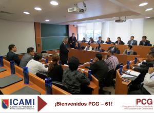 BIENVENIDOS PCG 61 - ICAMI